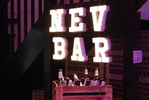 Nev's Bar Says Cheers