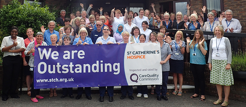 St Catherine's Hospice rated outstanding by the Care Quality Commission - latest news from St Catherine's Hospice
