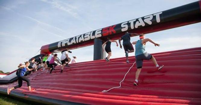 Inflatable 5k run