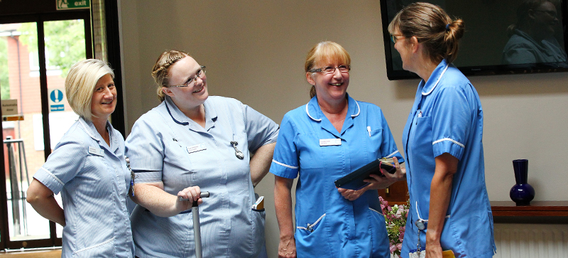 St Catherine's Hospice Sussex and Surrey community nursing team