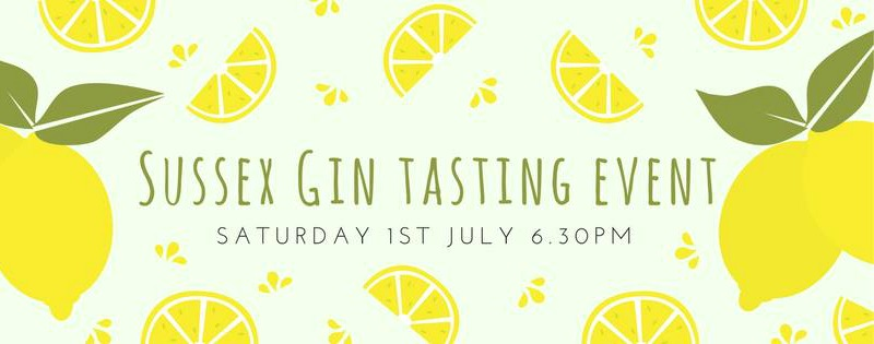 Sussex Gin Tasting Event