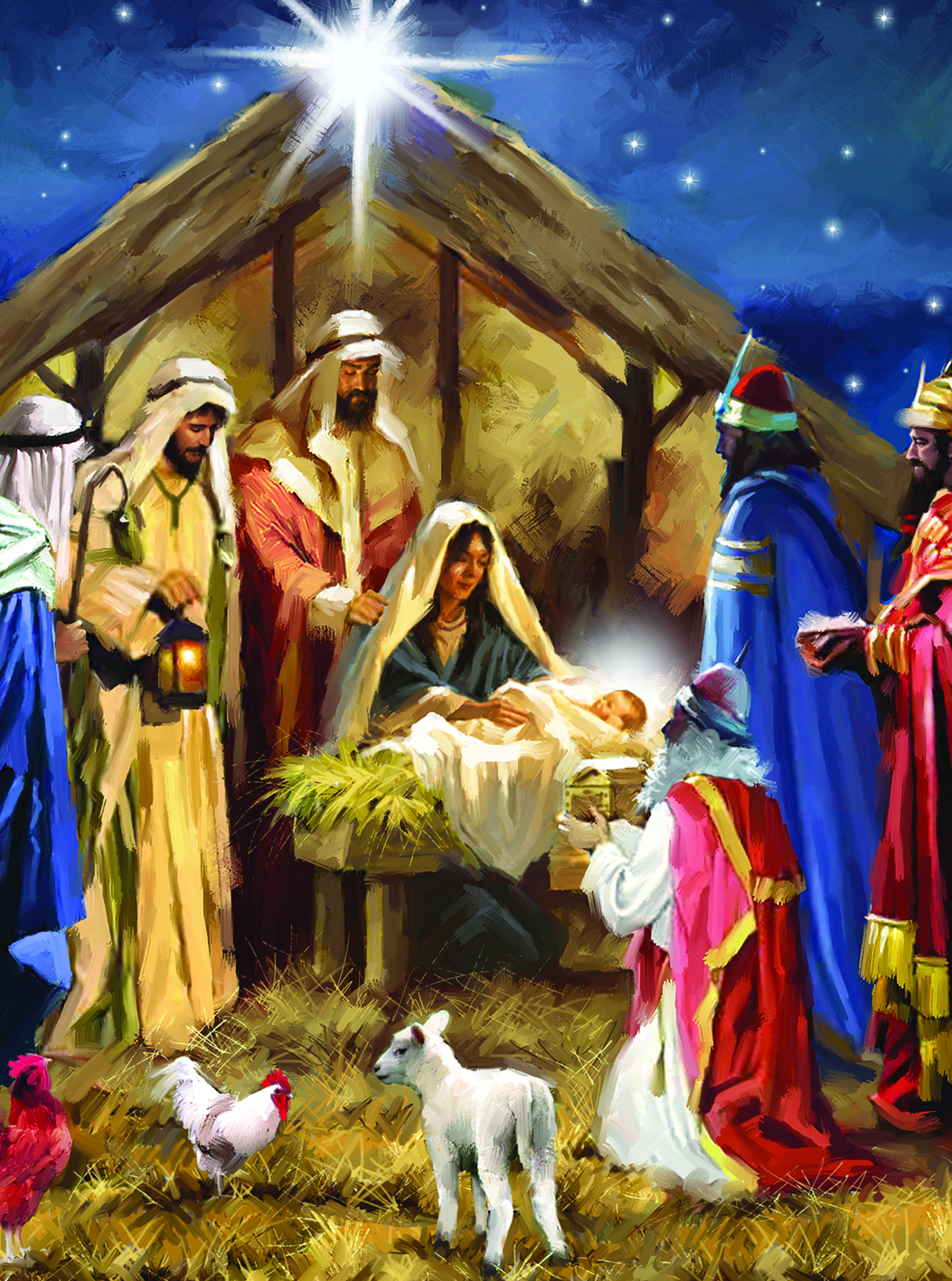 It is a photo of Gutsy Nativity Christmas Images