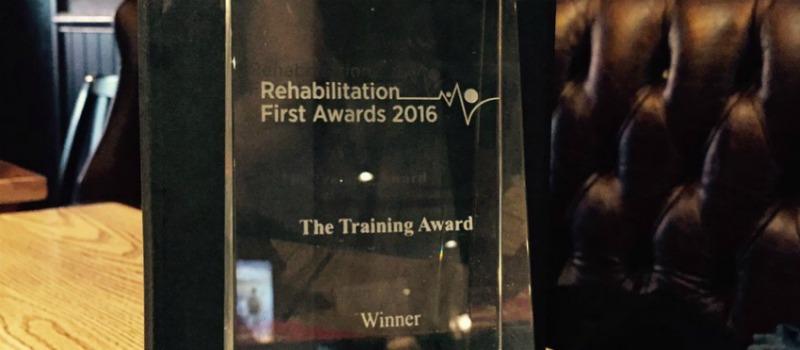 Rehabilitation Award Trophy