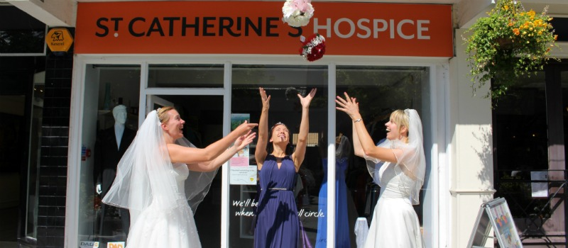 Shop for your wedding dress and support st catherines hospice shop junglespirit Gallery